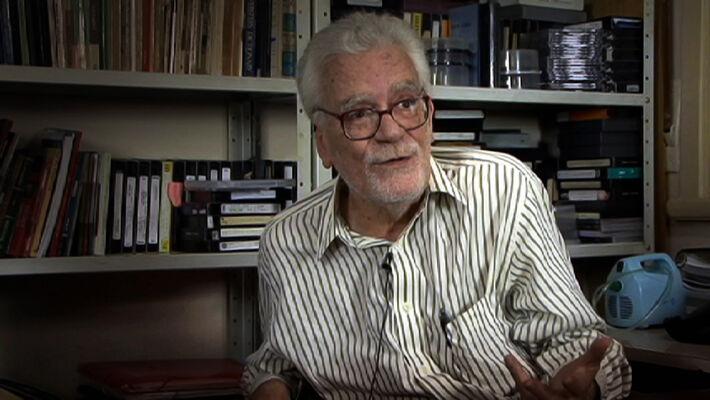 Cineasta Eduardo Coutinho<br />Foto: Divulgação