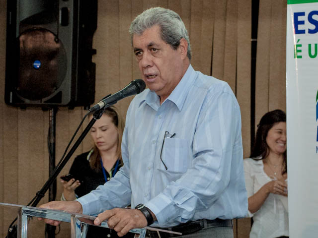 Governador André Puccinelli (PMDB)<br />Foto: Marcelo Calazans