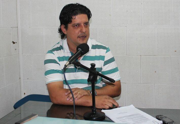 Prefeito de Naviraí, Leo Matos(PV)<br />Foto: Divulgação