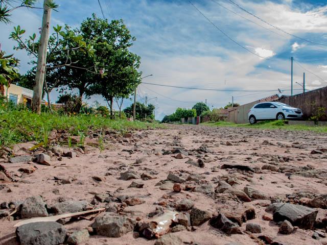 Avenida Cândido Garcia de Lima, no bairro Nova LIma<br />Foto: Marcelo Calazans