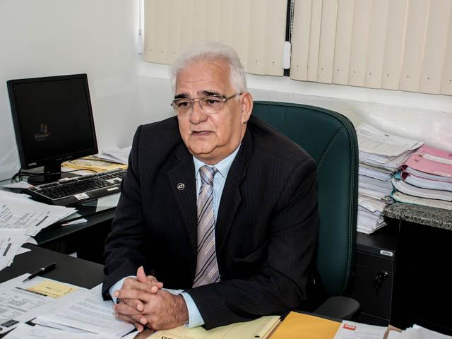 Procurador do Incra, Antonio Augusto Borges<br />Foto: Marcelo Calazans