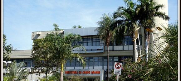 Prefeitura de Campo Grande. Foto: Reprodução