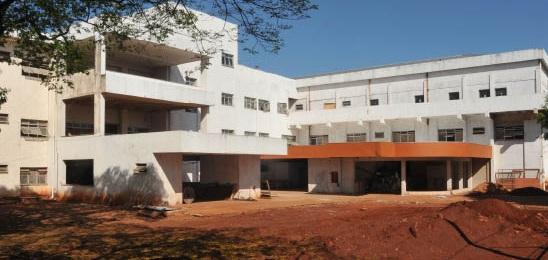 Obra do Hospital do Trauma de Campo Grande<br />Foto: Divulgação