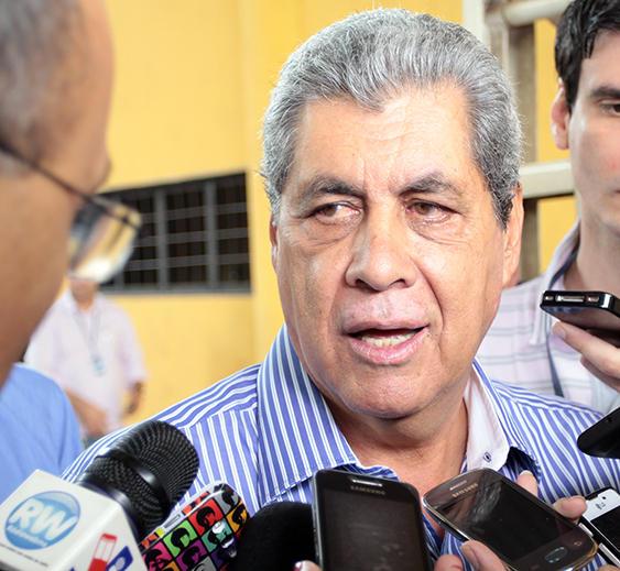 Governador do Estado, André Puccinelli<br />Foto: Assessoria/Rachid Waqued