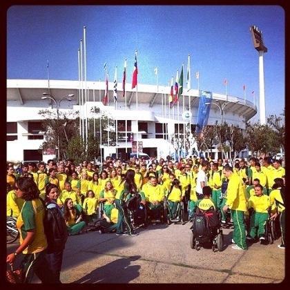 Jogos Paralímpicos de Santiago<br />Foto: Assessoria