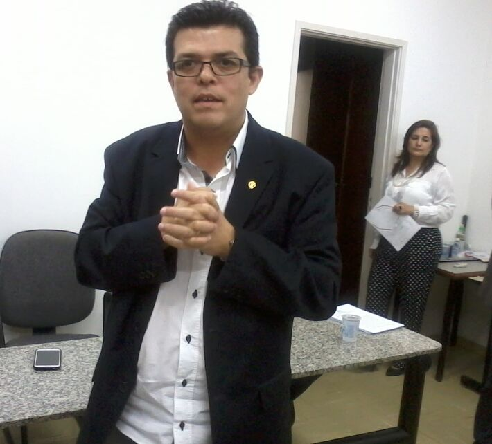 O prefeito de Campo Grande, Gilmar Olarte (PP) destacou que pretende trabalhar em união (Foto: Dany Nascimento)