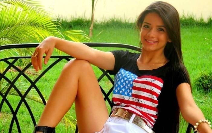 Acandidata Mayara Morales, representante de Juti no Concurso Miss Brasil Universal<br />Foto: Região News
