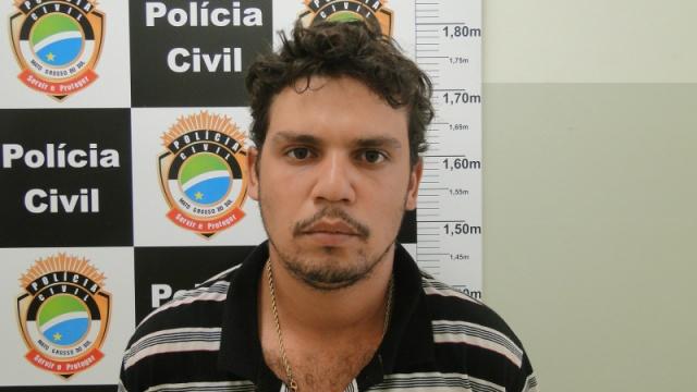 Cristiano foi preso numa fazenda no município de Caarapó - Foto: Divulgação/Polícia Civil