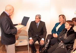"""O governador ministra a palestra com o tema: """"MS o melhor lugar para investir e viver (Foto: Divulgação)"""