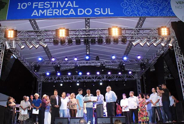 Abertura do 10º Festival América do Sul em Corumbá<br />Foto: Pérola News