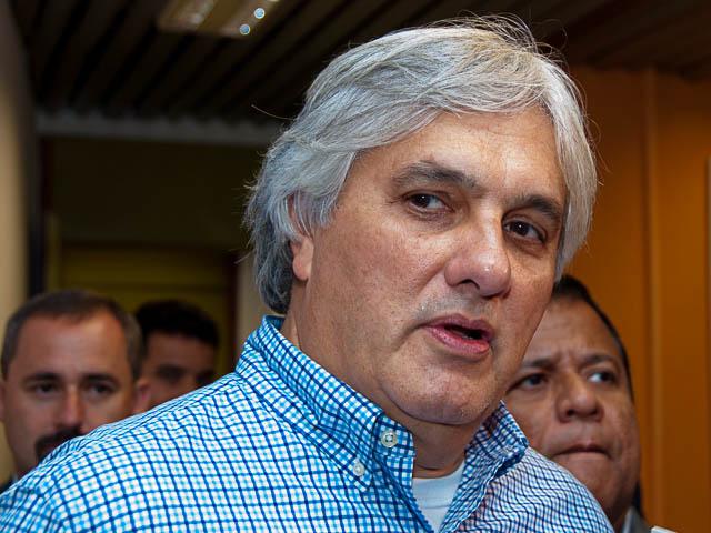 Senador e pré-candidato ao governo do Estado, Delcídio do Amaral (PT)<br />Foto: Marcelo Calazans