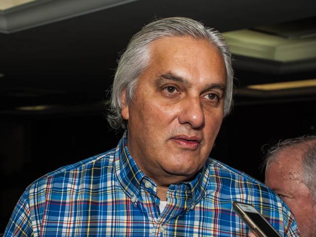 O senador garantiu que seu mandato está a disposição (Foto: Marcelo Calazans)