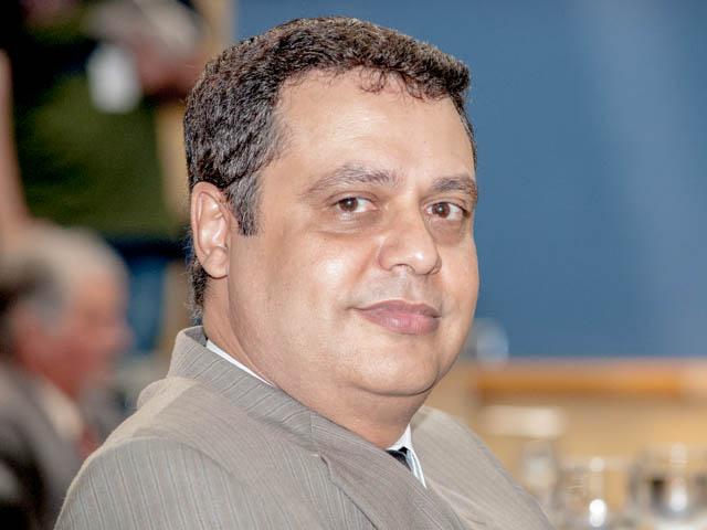 Vereador Flávio César (PT do B)<br />Foto: Marcelo Calazans