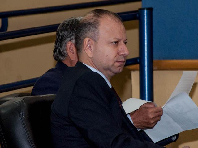 Vereador Gilmar da Cruz (PRB)<br />Foto: Marcelo Calazans