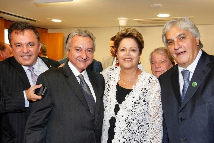 Texto: Edson Moraes Foto: Roberto Stuckert Filho/Presidência da República