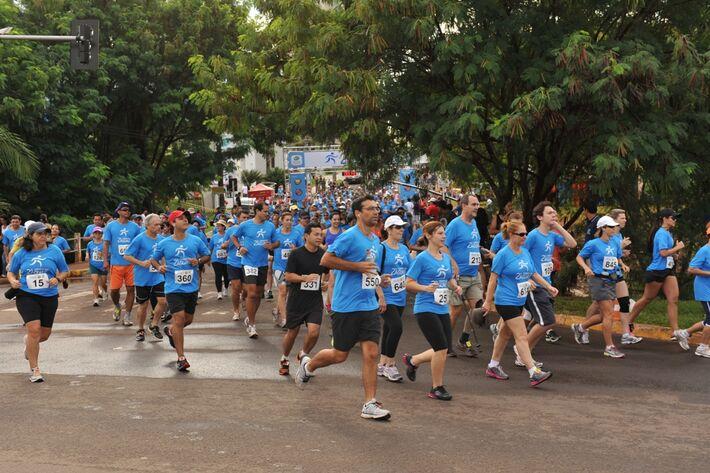 A corrida faz parte das comemorações ao Dia Mundial da Água<br />Foto: Assessoria