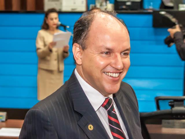 Mochi garante que Olarte tem demonstrado que fará uma excelente gestão em Campo Grande (Foto: Marcelo Calazans)