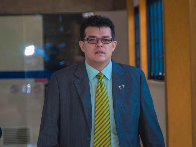Prefeito Gilmar Olarte (PP)<br />Foto: Marcelo Calazans