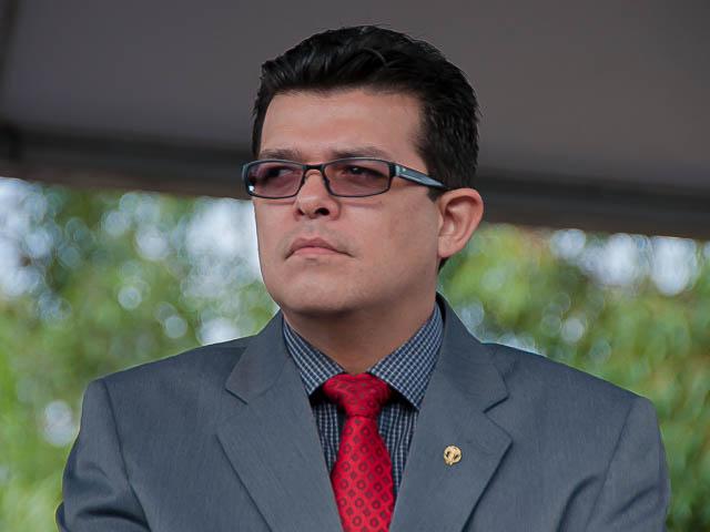 Prefeito Gilmar Olarte (PP) foi pego de surpresa com denúncia de falta de coletores de sangue nos postos de saúde da Capital, mas se comprometeu em abrir com urgência licitação para resolver o problema<br />Foto: Marcelo Calazans