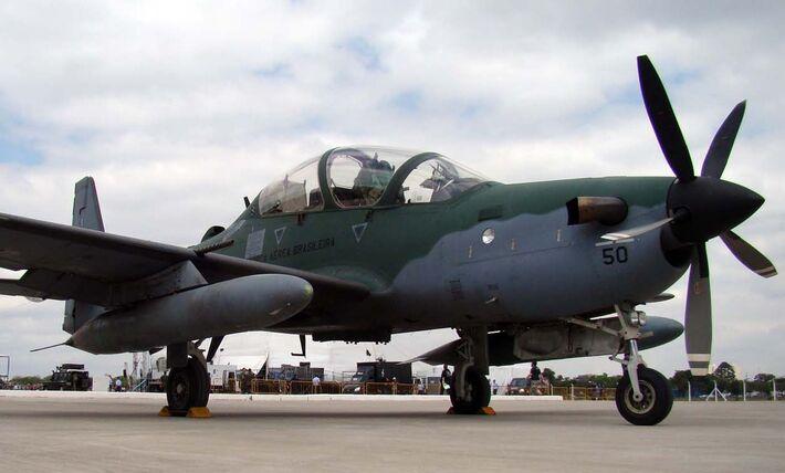 Aeronave A-29 Super Tucano da Força Aérea Brasileira (FAB) (Foto: Reprodução)