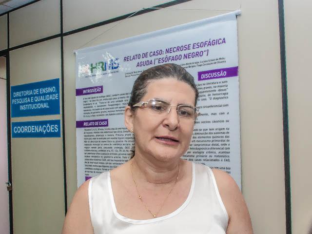 Magali Sanches Machado, diretora de ensino e pesquisa do Hospital Regional<br />Foto: Marcelo Calazans