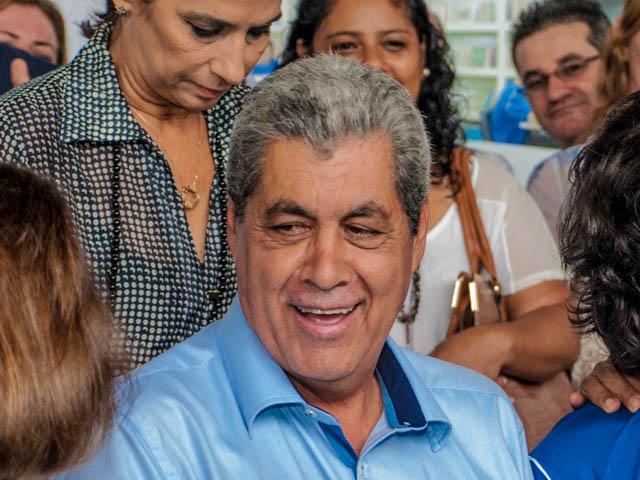 Sobre a possível cassação do prefeito Alcides Bernal (PP), o governador afirma que a cassação deve acontecer caso seja constatado fraude (Foto: Marcelo Calazans)