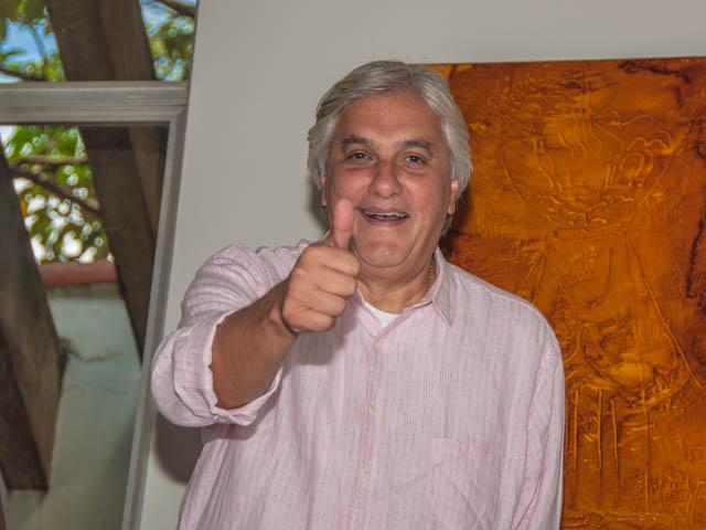 Pré-candidato a governo do Estado, senador Delcídio do Amaral (PT)<br />Foto: Arquivo