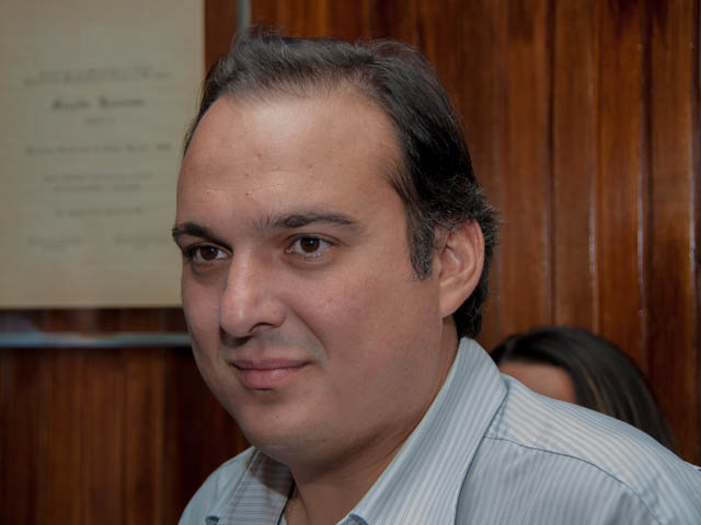 Secretário Rodrigo Pimentel<br />Foto: Marcelo Calazans