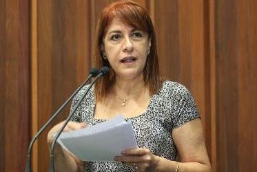 Silvia Hafez fez questão de ressaltar que muitos servidores abandonaram o cargo por insatisfação (Foto: Giuliano Lopes)