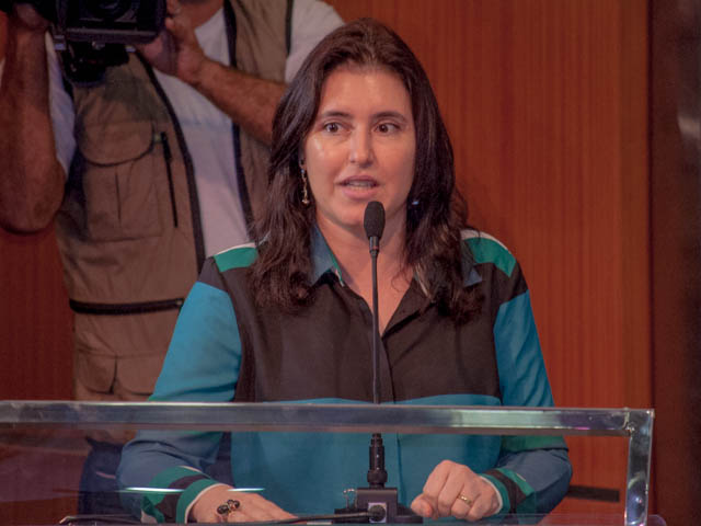 Vice-governadora Simone Tebet (PMDB)<br />Foto: Marcelo Calazans