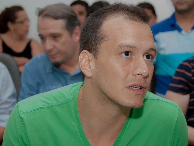 Vitor Samudio, presidente do Fórum Municipal de Cultura<br />Foto: Marcelo Calazans
