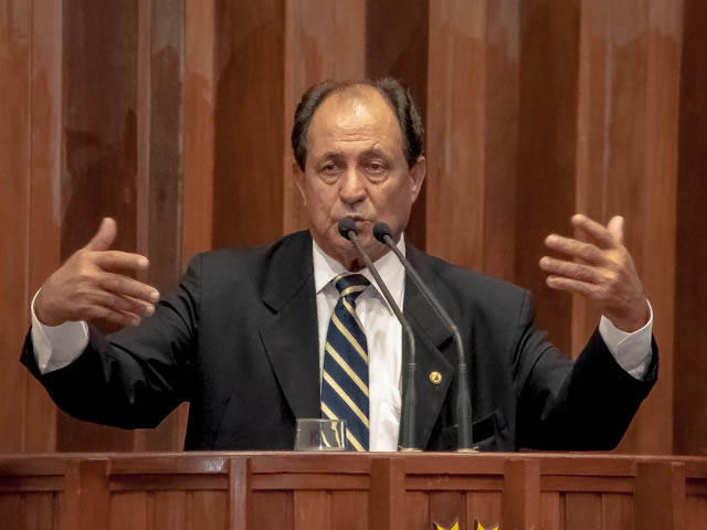 Deputado estadual Zé Teixeira (DEM)<br />Foto: Marcelo Calazans