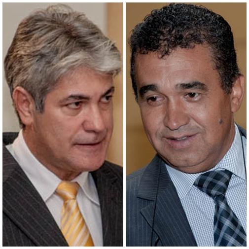 Vereadores Alex do PT e Ayrton Araújo (PT)<br />Foto: Marcelo Calazans