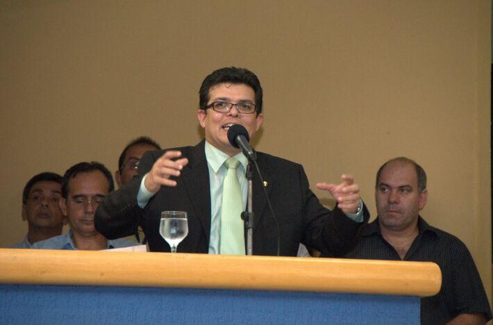Gilmar Olarte (PP), prefeito de Campo Grande<br />Foto: Marcelo Calazans