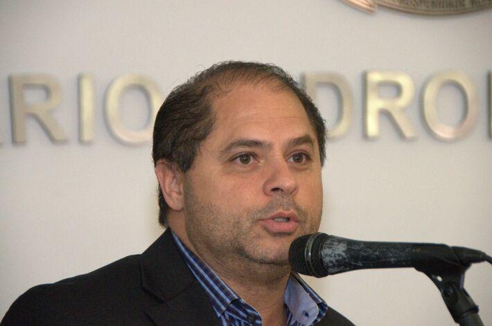Vereador Mário César (PMDB)<br />Foto: Marcelo Calazans