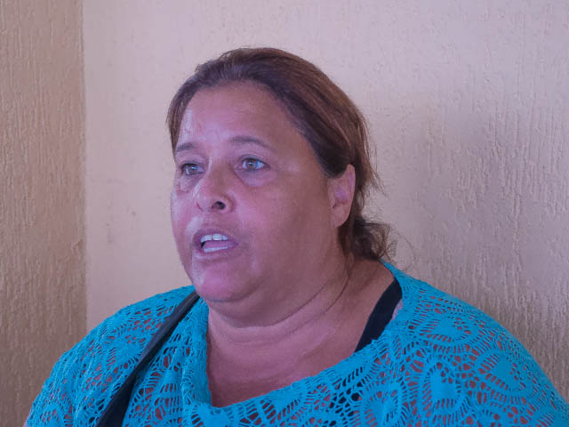 Dona de casa, Nice Xavier, 46.<br />Foto: Marcelo Calazans