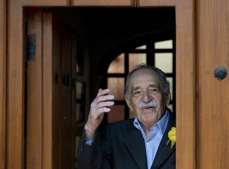 Escritor colombiano Gabriel Garcia Márquez<br />Foto&gt; Terra