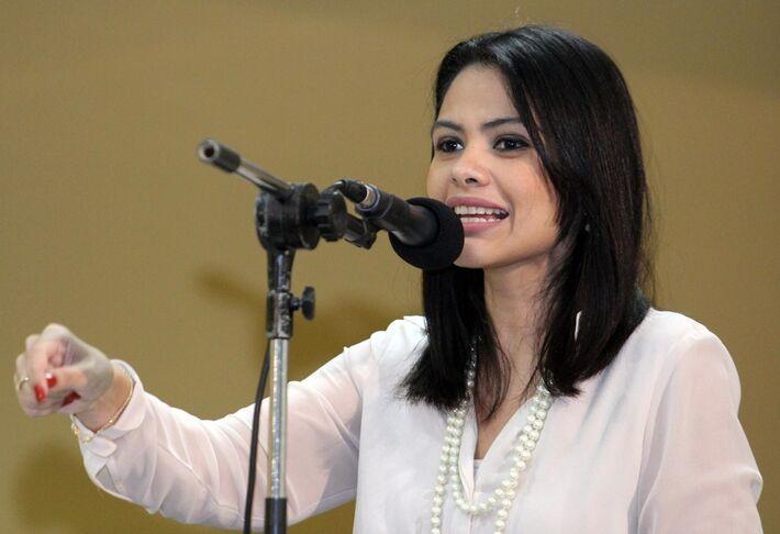 Vereadora Grazielle Machado recebeu convite do PT para ser vice em chapa de Delcídio do Amaral<br />Foto: arquivo