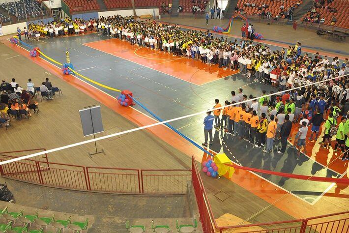 Abertura dos Jogos Escolares<br />Foto: Divulgação