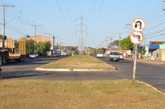 Avenida Guaicurus<br />Foto: Assessoria PMCG