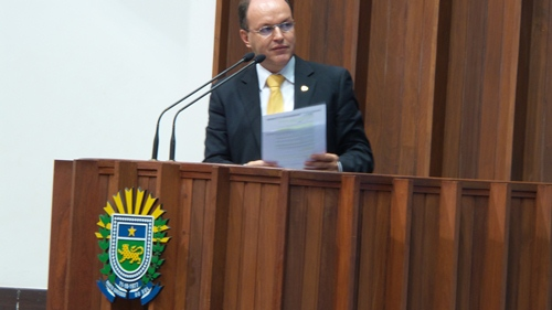 Deputado estadual Junior Mochi (PMDB) (Foto: Dany Nascimento)