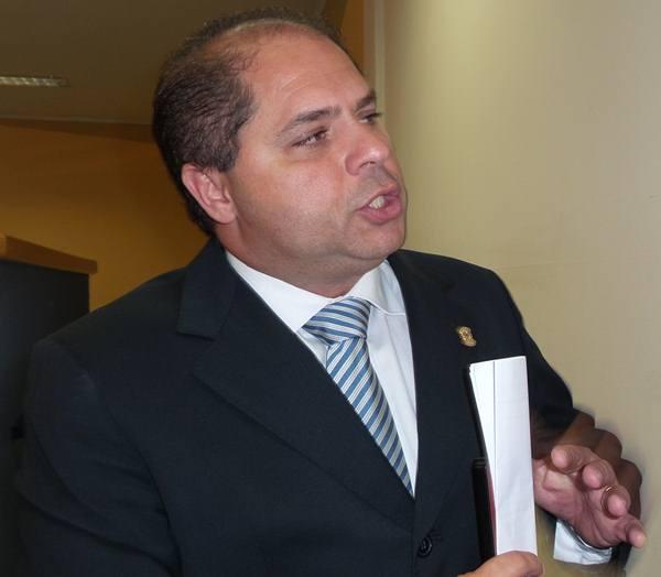Vereador Mário César (PMDB)<br />Foto: Tayná Biazus