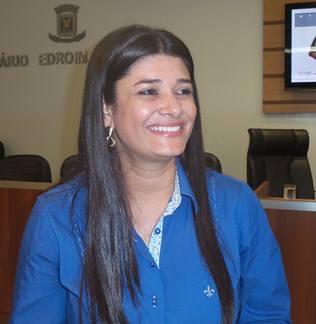 Vereadora Rose Modesto (PSDB)<br />Foto: Tayná Biazus