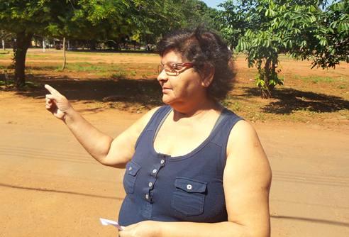 Presidente do Conselho Fiscal da Associação de Moradores do Residencial Ana Maria do Couto, Mirian David<br />Foto: Tayná Biazus