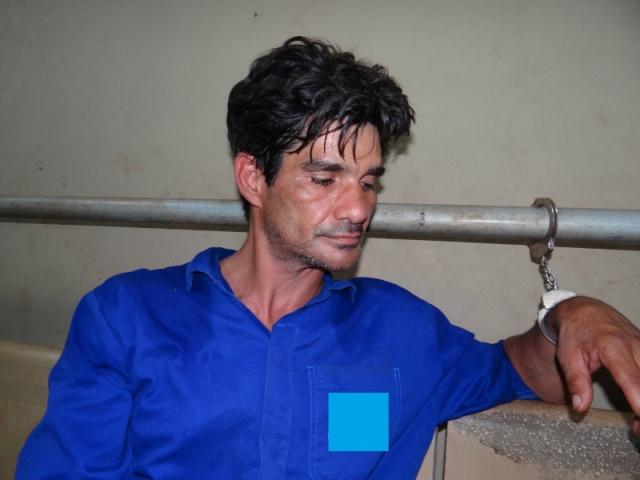 Homem foi preso na tarde de ontem em Dourados - Foto: Osvaldo Duarte