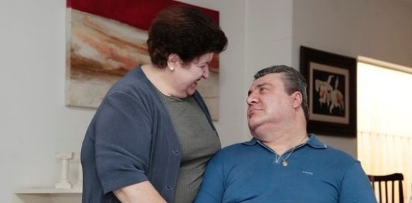 Gerson Brenner e esposa<br />Foto: Agência BOL