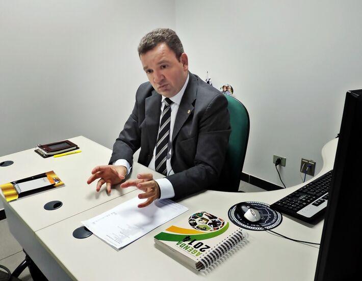 Juiz auxiliar da Capital Luiz Felipe Medeiros Vieira<br />Foto: Jhonathan Dias