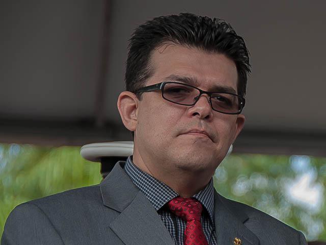 O prefeito de Campo Grande, Gilmar Olarte (PP) afirmou no período da manhã que não está preocupado com depoimento - Foto: Arquivo