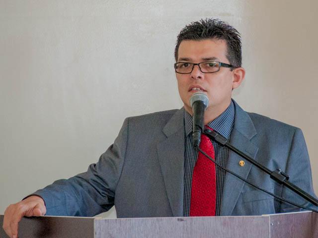 O prefeito de Campo Grande, Gilmar Olarte (PP) garante que seu objetivo é acabar com os problemas da saúde pública (Foto: Marcelo Calazans)