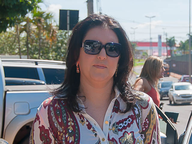Vice-governadora e pré-candidata ao senado, Simone Tebet (PMDB)<br />Foto: Marcelo Calazans